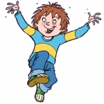 "Image for the Childrens programme ""Horrid Henry"""