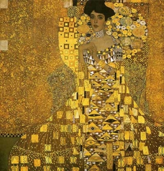 Image result for lady in gold