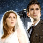 "Image for episode ""The Runaway Bride"" from Science Fiction Series programme ""Doctor Who"""