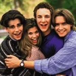 "Image for the Sitcom programme ""Boy Meets World"""