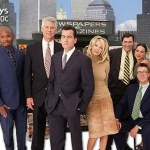 "Image for the Sitcom programme ""Spin City"""
