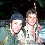 "Image for the Documentary programme ""Ray Mears and Ewan McGregor: Extreme Jungle"""