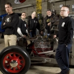 "Image for the Motoring programme ""Hot Rod Apprentice"""