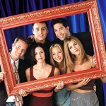 "Image for the Sitcom programme ""Friends"""