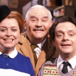 "Image for the Sitcom programme ""Open All Hours"""