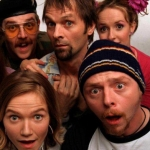"Image for the Sitcom programme ""Spaced"""