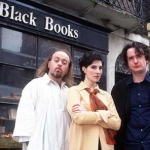 "Image for the Sitcom programme ""Black Books"""