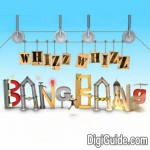 "Image for the Childrens programme ""Whizz Whizz Bang Bang"""