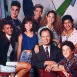 "Image for the Sitcom programme ""Saved by the Bell"""