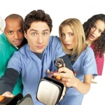 "Image for the Sitcom programme ""Scrubs"""