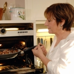 "Image for the Cookery programme ""Delia"""
