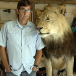"Image for the Documentary programme ""Louis Theroux's African Hunting Holiday"""
