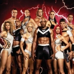 "Image for the Game Show programme ""Gladiators"""
