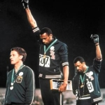 "Image for the Documentary programme ""Black Power Salute"""