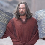 "Image for the History Documentary programme ""The Ten Commandments"""