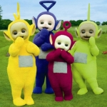 "Image for the Childrens programme ""Teletubbies"""
