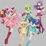 "Image for the Animation programme ""Mew Mew Power"""