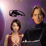 "Image for the Science Fiction Series programme ""Andromeda"""