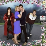"Image for the Sitcom programme ""Gavin and Stacey"""