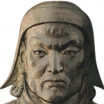 "Image for the History Documentary programme ""Genghis Khan"""