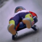 "Image for the Sport programme ""Live Luge"""