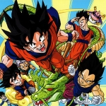"Image for the Animation programme ""Dragonball Z"""
