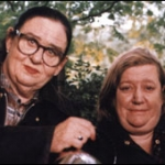 "Image for the Cookery programme ""Two Fat Ladies"""