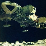 "Image for the Science Fiction Series programme ""Space 1999"""