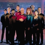 "Image for the Science Fiction Series programme ""Star Trek: The Next Generation"""