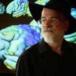 "Image for the Documentary programme ""Terry Pratchett: Living with Alzheimer's"""