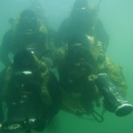 "Image for the Documentary programme ""Navy Divers"""
