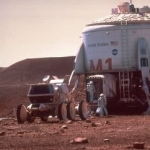 "Image for the Film programme ""Mission to Mars"""