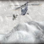 "Image for the Documentary programme ""Helicopter Wars"""