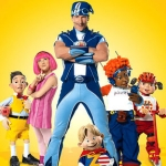 "Image for the Childrens programme ""Lazytown Extra"""