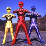 "Image for the Childrens programme ""Power Rangers"""