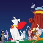 "Image for the Animation programme ""Krypto the Super Dog"""