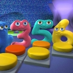 "Image for the Childrens programme ""Numberjacks"""