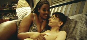 Black busty bbw legend ms deja puts dildo between her tits - 2 part 8
