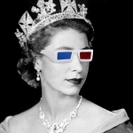 "Image for the Documentary programme ""The Queen in 3D"""