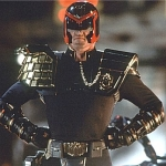 "Image for the Film programme ""Judge Dredd"""