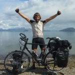 "Image for the Documentary programme ""The Man Who Cycled the Americas"""