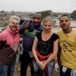 "Image for the Documentary programme ""Famous, Rich and in the Slums with Comic Relief"""