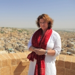 "Image for the Travel programme ""Caroline Quentin: A Passage Through India"""