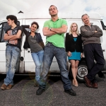 "Image for the Sitcom programme ""White Van Man"""
