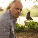 "Image for the Nature programme ""Baboons with Bill Bailey"""