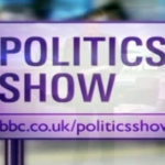 "Image for the Political programme ""The Politics Show"""