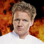 "Image for the Cookery programme ""Hell's Kitchen USA"""