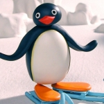 "Image for the Childrens programme ""The Pingu Show"""