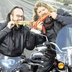 "Image for the Cookery programme ""The Hairy Bikers"""