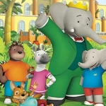 "Image for the Childrens programme ""Babar and the Adventures of Badou"""